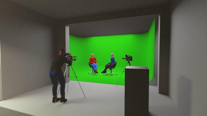 Find greenscreen studieproduktion københavn