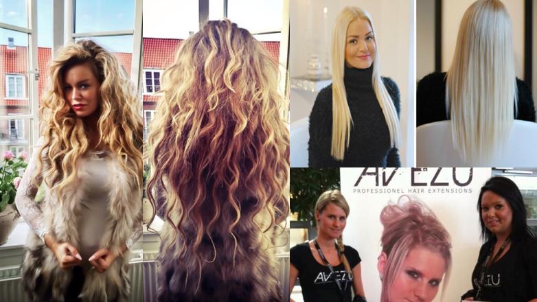 Høj kvalitets hairextensions i lækker webshop